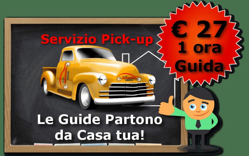 srvizio pickup lavanga no anno reverse guida € 27