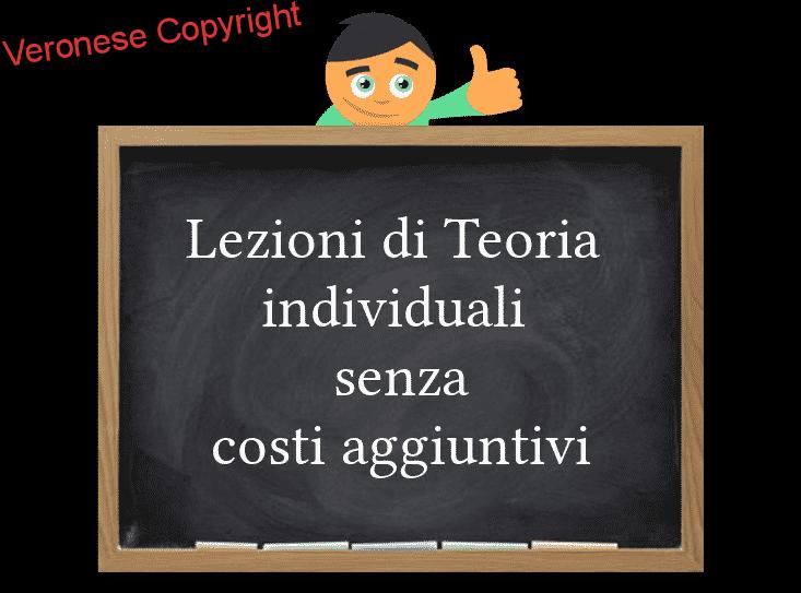 lezioni di teoria individualii